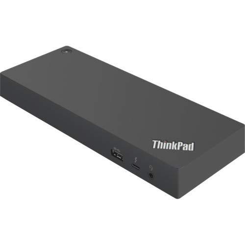 Lenovo ThinkPad Thunderbolt 3 Dock Gen 2 135W (40AN0135US) Dual UHD 4K Display Capability, 2 HDMI, 2 DP, USB-C, USB 3.1