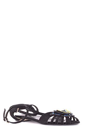 Sandales Noir Suède NINALILOU Femme MCBI495009O xvpwfz