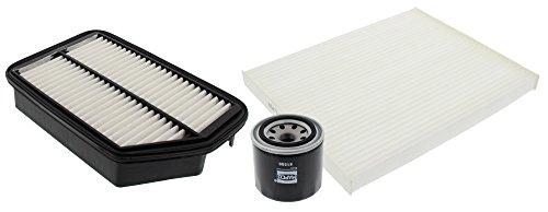 MAPCO 68553 Filter Kit Oil Air Filter Cabin Air Filter: