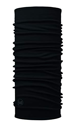 Solid Black - Midweight Merino Wool - Adult Sized