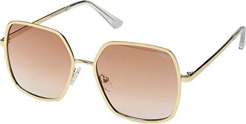 Quay Women's Undercover Sunglasses, Gold/Peach, One ()