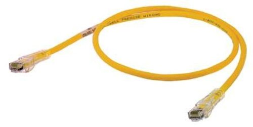 5 Length Hubbell Wiring Systems HC6Y05 netSELECT Structured Wiring Universal Patch Cord Yellow Category 6