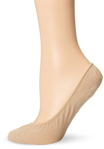No Nonsense Women's Very Sheer Liner Sock 3-Pack, Nude, One Size ()