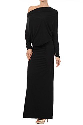 one shoulder black tie dresses - 1
