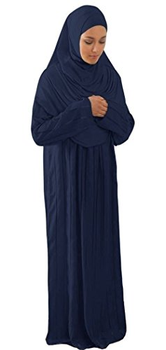 Amade Muslim Women's One-piece Prayer Dress Abaya Set for sale  Delivered anywhere in USA
