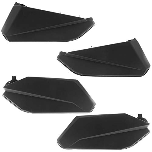 (Can Am Maverick X3 MAX Lower Door Panel Insert Kit Black (Front & Rear))