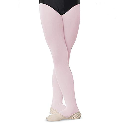 Danshuz Nylon Tights - Danshuz Womens Ballet Pink Comfortable Nylon Stretch Tights A