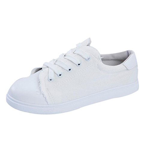 tenworld-flat-shoes-womens-canvas-shoes-lace-up-sneakers-65-white