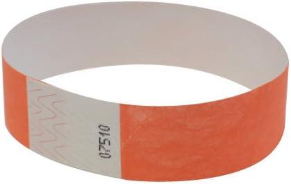 "250 Plain Sky Blue 3//4/"" Tyvek Paper Wristbands for Events,Festivals,Parties"
