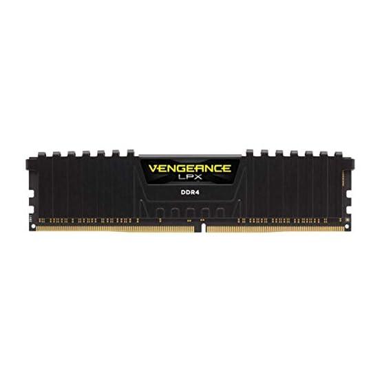 Corsair Vengeance LPX 16GB (2 X 8GB) DDR4 3600 (PC4-28800) C18 1.35V Desktop Memory - Black 31vf6Vr2hTL. SS555