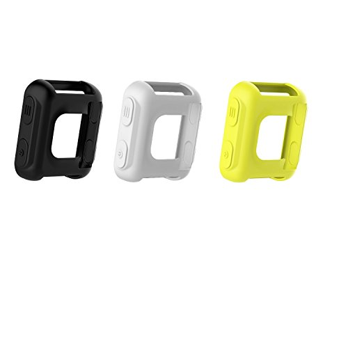 - TenCloud Band Covers for Forerunner 35 Watch, Garmin Forerunner 35 Approach S20 Watch Accessories Silicone Protector Case Replacement (White,Black,Lemon)