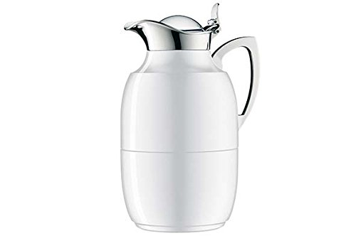 alfi Juwel Vacuum Thermal Carafe 1.0 L, Lacquered Polar White by Alfi Carafes