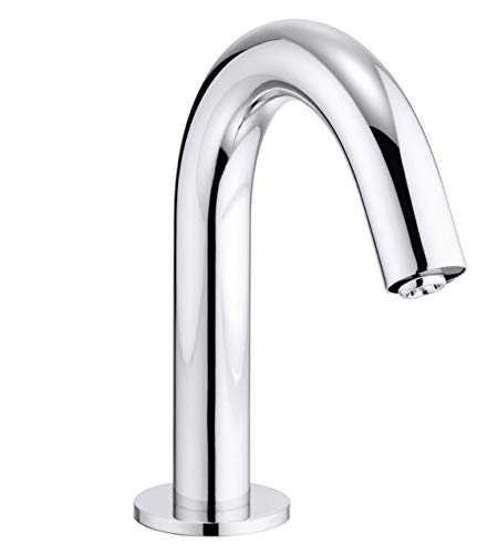 TOTO TEL113-D20E#CP Helix EcoPower 0.35 GPM Electronic Touchless Sensor Bathroom Faucet, Polished Chrome (Faucet Electronic Toto Ecopower)