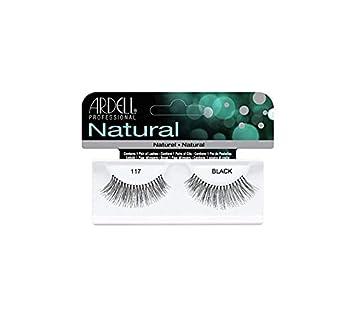 6d333b94d93 Amazon.com : Ardell Fashion Lashes, 117 Black, 1 Pair (Pack of 3) : Fake  Eyelashes And Adhesives : Beauty
