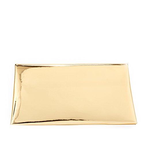 Doré Pochette envelope Femme reflets Markfran à métalliques 7YHT67wq