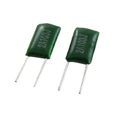 Uxcell a11042800ux0231 100 Piece 100V 0.01uF 10000pF Polyester Film Capacitor Ffeua