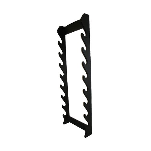Sword Wall Rack (Whetstone Cutlery 8 Piece Wall Display Sword Rack)