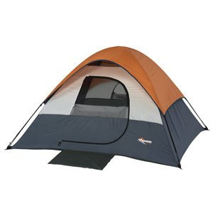 Mountain Trails Twin Peaks Sport Dome Tent 4 Person Shockcorded Fiberglass Fr…, Outdoor Stuffs