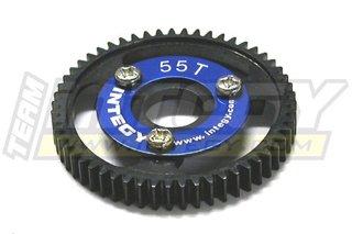 T-maxx Steel - Integy RC Model Hop-ups T3654 55T Steel Spur Gear for T-Maxx3.3 & Jato