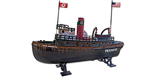"ROUND 2 LLC Texaco Latin American Tugboat Die Cast Boat Coin Bank - 9"" Long"