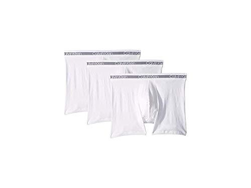 Calvin Klein Underwear Men's Cooling 3-Pack Boxer Brief White Medium