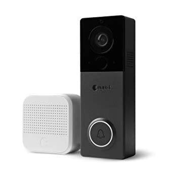 Amazon Com August View Wire Free Doorbell Camera Black