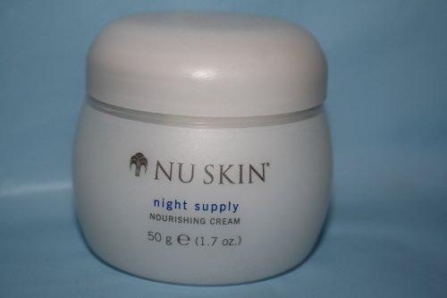 Nourishing Night Cream (Nu Skin NuSkin Nutricentials Night Supply Nourishing Cream - 50g (1.7 Oz) by Chunkaew)