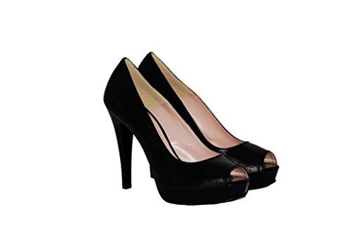Hohe Pumps Decollete aus Leder Damen RIPA shoes - 55-5348