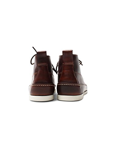 Bass Weejuns Ranger Camp Moc Boots Dark Brown