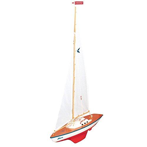 Segeljacht Albatros 71x89cm Boot Segelbootmodell Modell Schiff Schiffmodell Segler Jacht