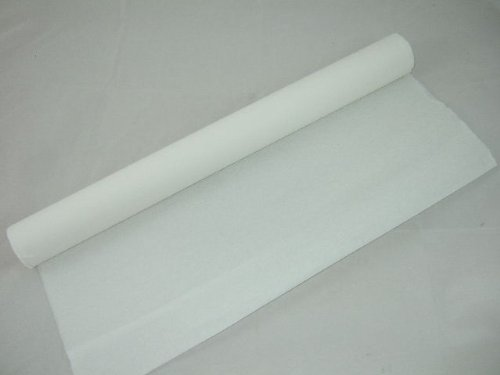 Clikkabox 1 White Crepe Paper Roll - 10m long x 50cm wide Many uses as decorations, marketing tools, great favourite with schools and the craft industry Clikkabox Crepe C60V