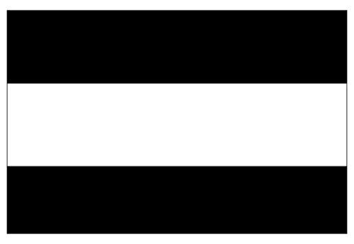 Thin WHITE Line EMT EMS Flag Sticker (decal emergency service rescue)- Sticker Graphic Decal (Emergency Services Decals)