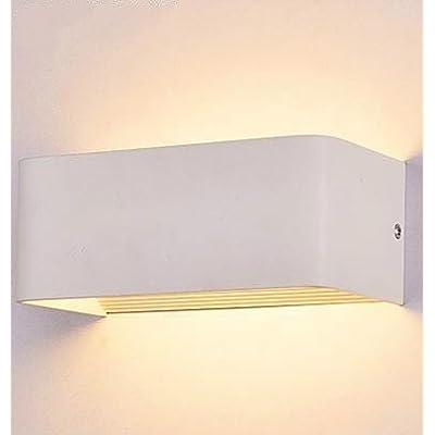 Amzdeal 6w Applique Murale Led En Aluminium Lumière Interieur