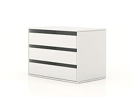 Composad Cassettiera Interna Armadio Bianco CT7172 L85h60p50