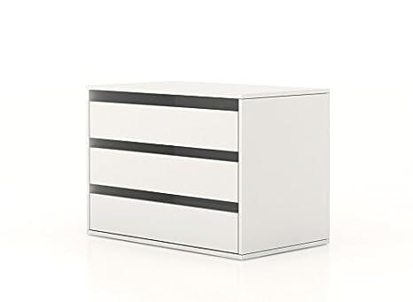 Cassettiere Interne Armadi.Composad Cassettiera Interna Armadio Bianco Ct7172 L85h60p50