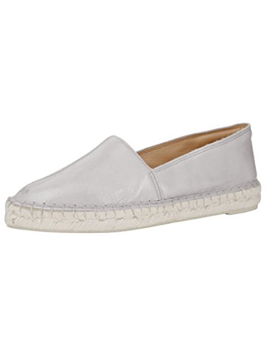 Grau Slipper in Angesagtem Damen Naturläufer Look Espadrille zqvCFx7w