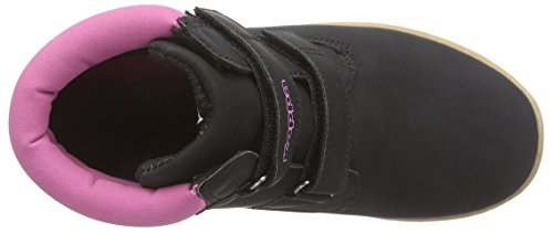Kappa KOMBO II K Footwear Kids - zapatillas deportivas altas de material sintético Niños^Niñas negro - Schwarz (1122 black/pink)