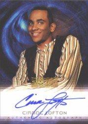 (Quotable Star Trek Deep Space Nine A18 Cirroc Lofton Autograph Card)