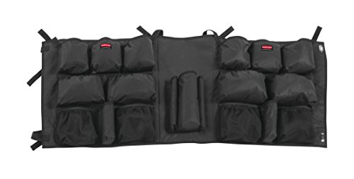 (Rubbermaid Commercial Products 2032939 Slim Jim Caddy Bag for 23 gal, Black)