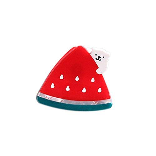 Q_TS Hair Clip Hair Bands Cute Watermelon Strawberry Styling Bear Watermelon Hairpin Hair Accessory Grab Clip Children Cartoon Hairpin Watermelon