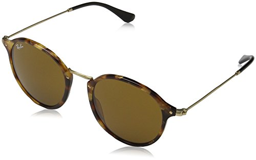 Lunettes brown Brown Acetate Havana De ban Man Sunglass Ray Marron spotted Soleil 5wq6qH