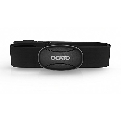 OCATO H310 Smart Heart Rate Monitor Sensor ANT+ & Bluetooth Technology for Running Gym Cycling Outdoors Sports (Oval, Universal Size)