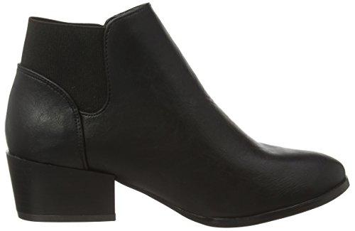 Boots F50230 Ankle Spot Women's Black Pu On Black wpqBRBnPv