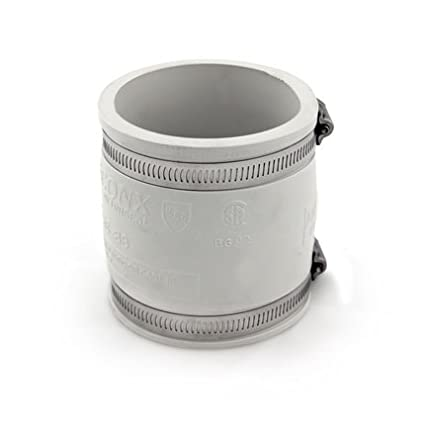 Flexible Coupling - 3.0' x 3.0' - White PIPECONX