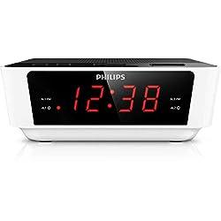 Philips Digital tuning clock radio AJ3115 FM, Digital tuning Dual alarm Time & alarm backup