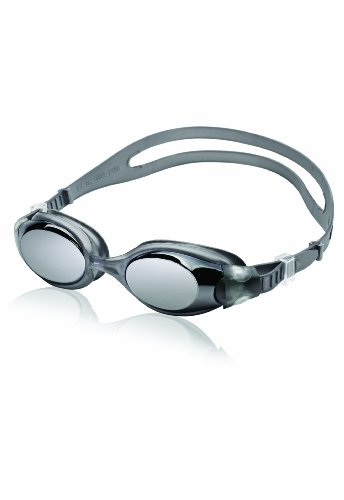 Speedo Hydrosity Mirrored Swim Goggle, Charcoal, One Size