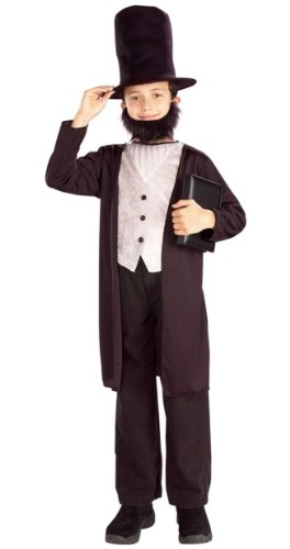 Forum Novelties Abraham Lincoln Costume - Child Costume - Large (12-14) -