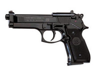 - Beretta 92FS, Blue air pistol