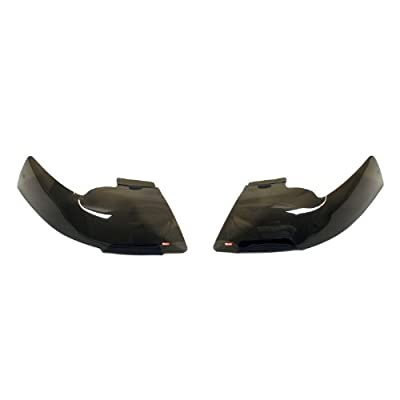Wade 72-38274 Smoke Tint Light Guard Headlight Cover - Pair