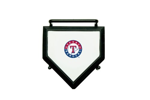 fan products of MLB Texas Rangers Home Plate 4-pack Coaster Set